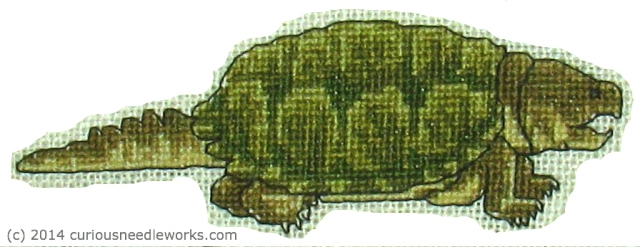 Snapper embroidery