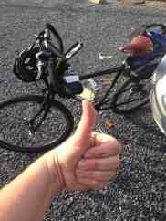Bike good….